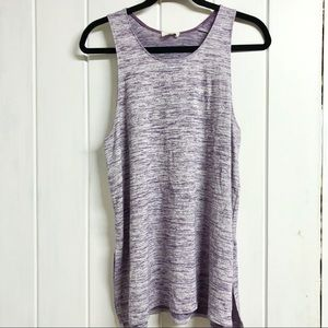 Wilfred Free Purple Tank Top